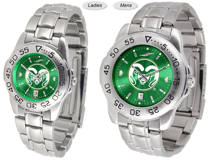 Colorado State Rams Sport Steel AnoChrome Watch