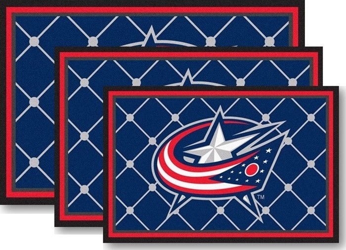 Columbus Blue Jackets NHL Area Rugs - Sports Fans Plus
