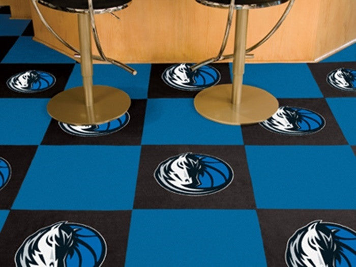 Dallas Mavericks NBA Carpet Tiles - Sports Fans Plus  - 1