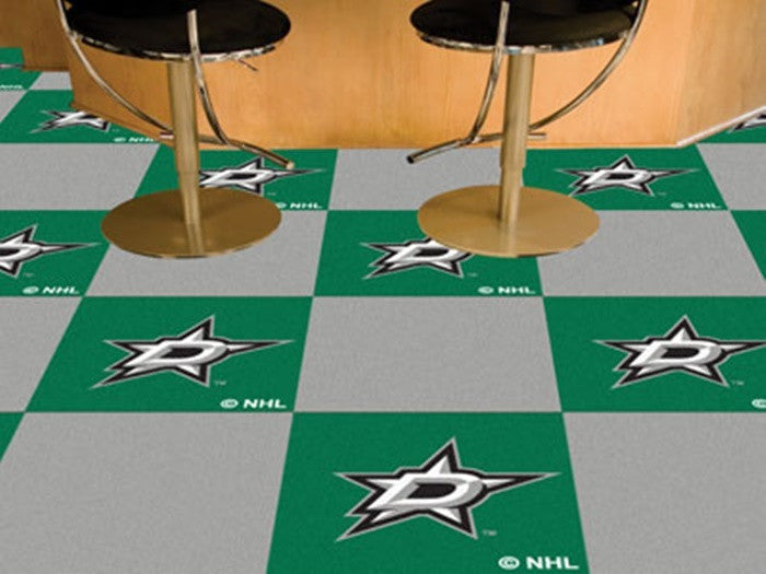 Dallas Stars NHL Carpet Tiles - Sports Fans Plus  - 1
