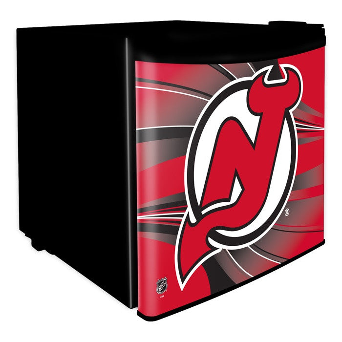 New Jersey Devils NHL Dorm Room Refrigerator - Sports Fans Plus  - 1