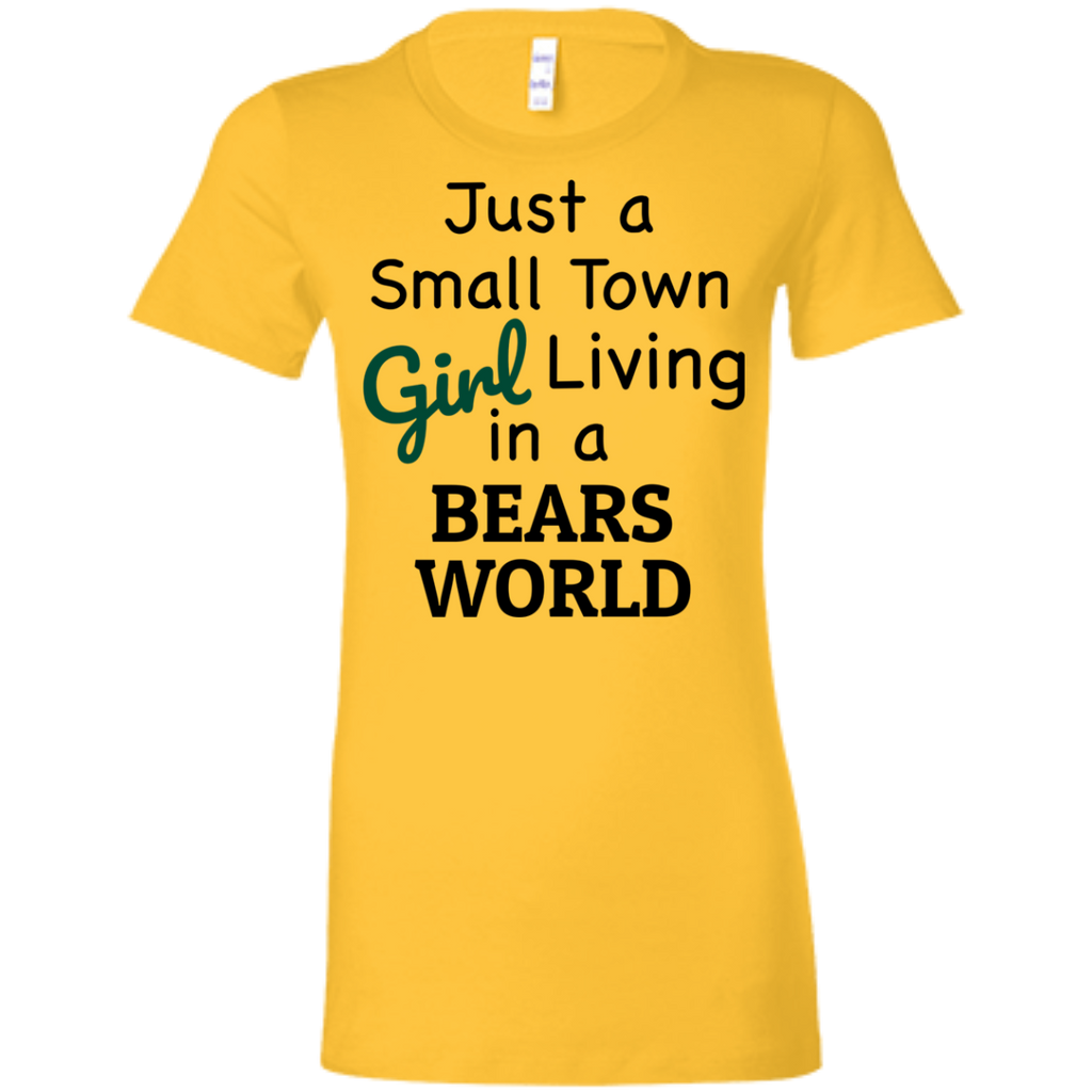 Juniors Small Town Gold Bears Favorite T-Shirt