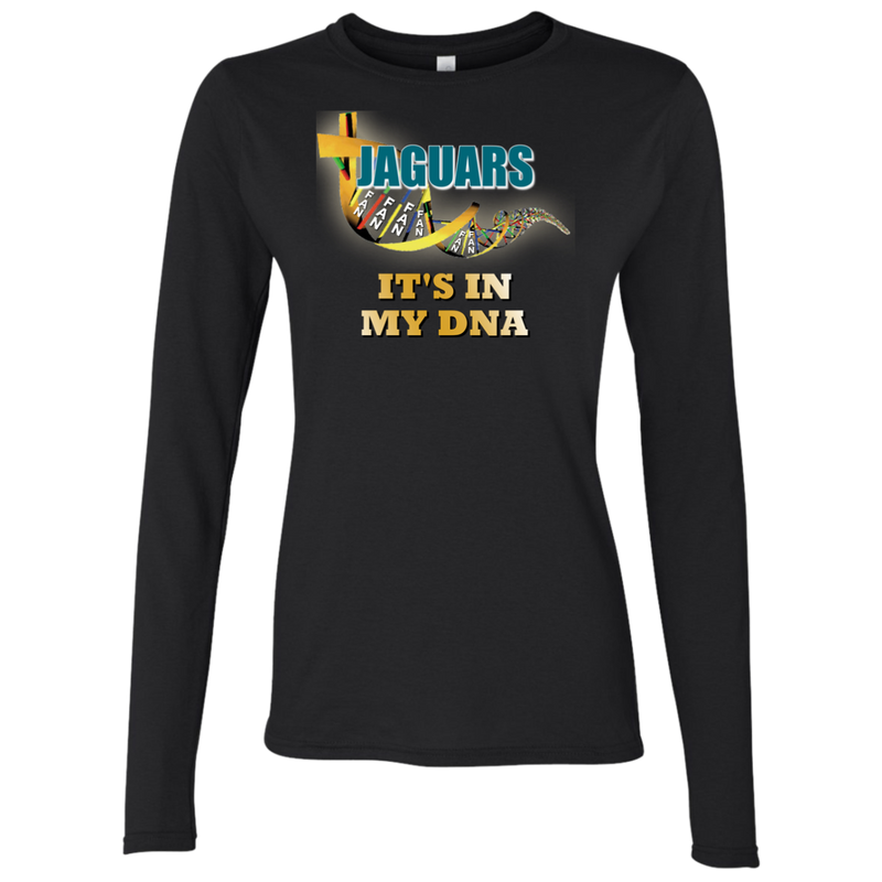Ladies DNA Black Jaguars LS T-Shirt