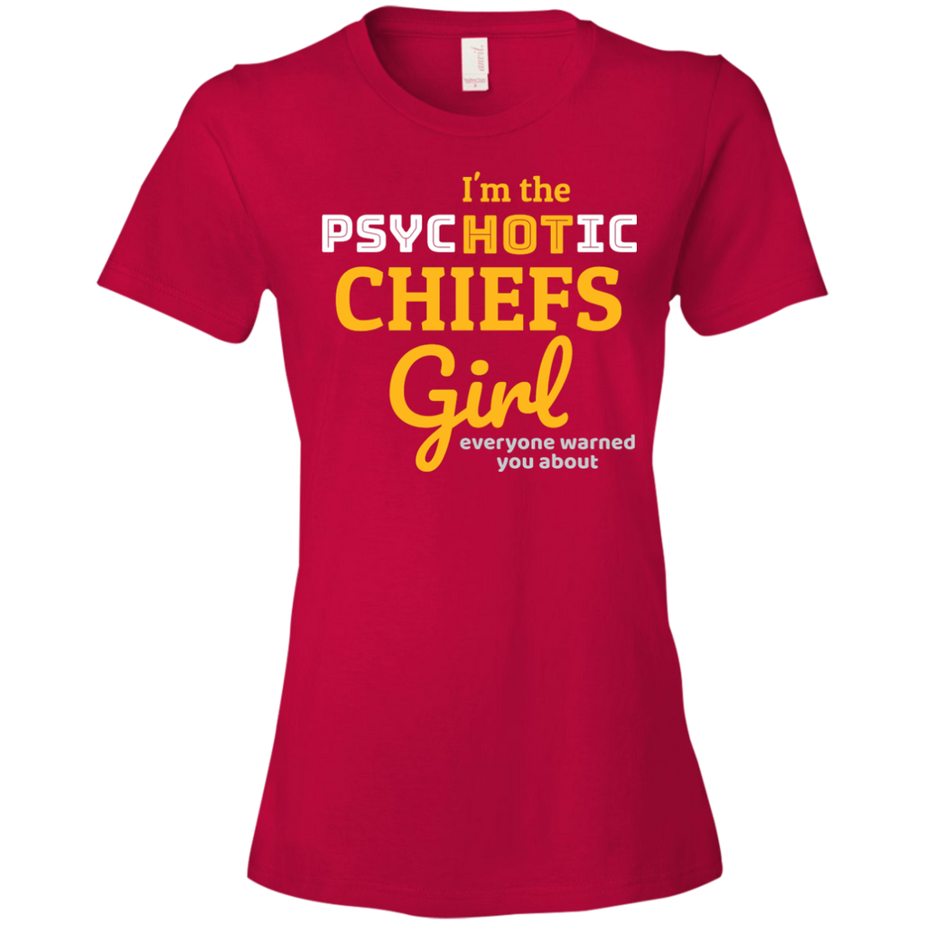 Ladies Red Chiefs Psychotic T-Shirt