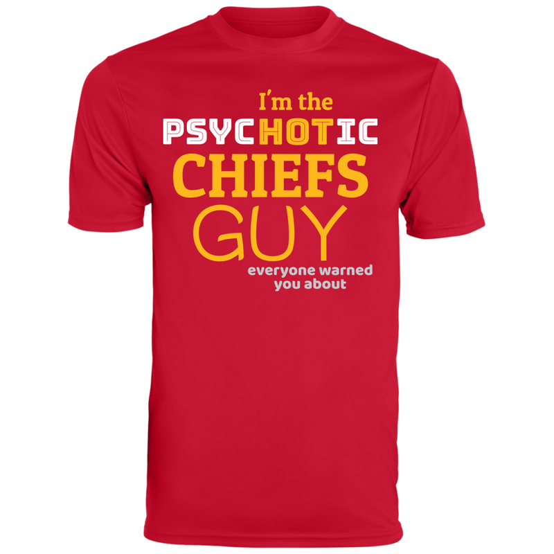 Mens Psychotic Red Chiefs Wicking T-Shirt