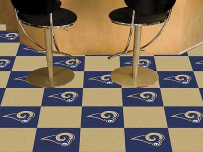 St. Louis Rams NFL Carpet Tiles - Sports Fans Plus - 1