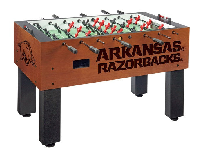 Arkansas Razorbacks Foosball Table - Sports Fans Plus
