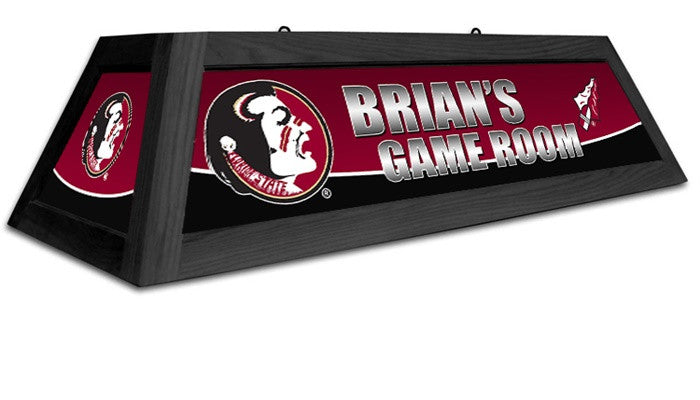 Florida State Seminoles Customizable Game Table Lamp - Sports Fans Plus