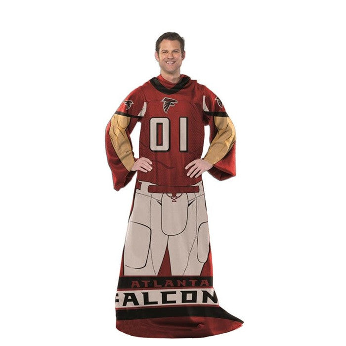Atlanta Falcons NFL Unisex Adult Comfy Throw - Sports Fans Plus