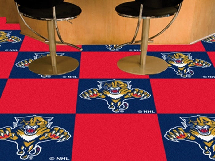 Florida Panthers NHL Carpet Tiles - Sports Fans Plus  - 1