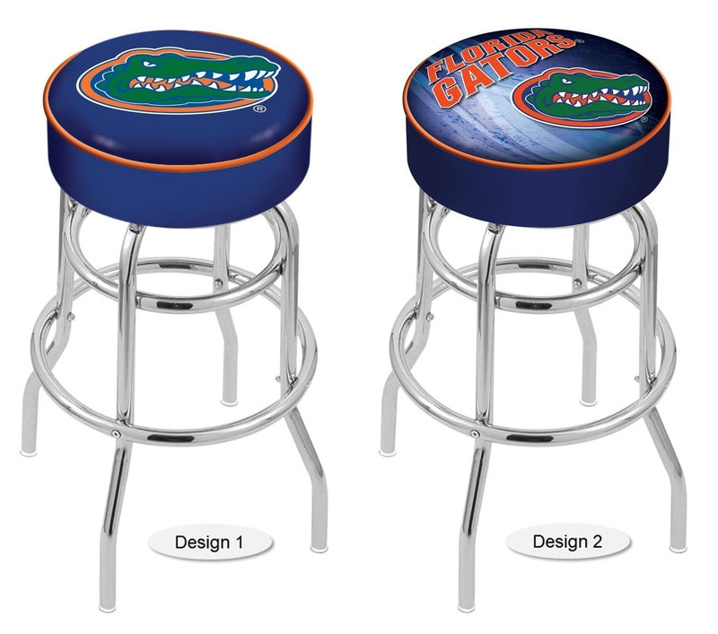 Florida Gators Retro Chrome Bar Stool