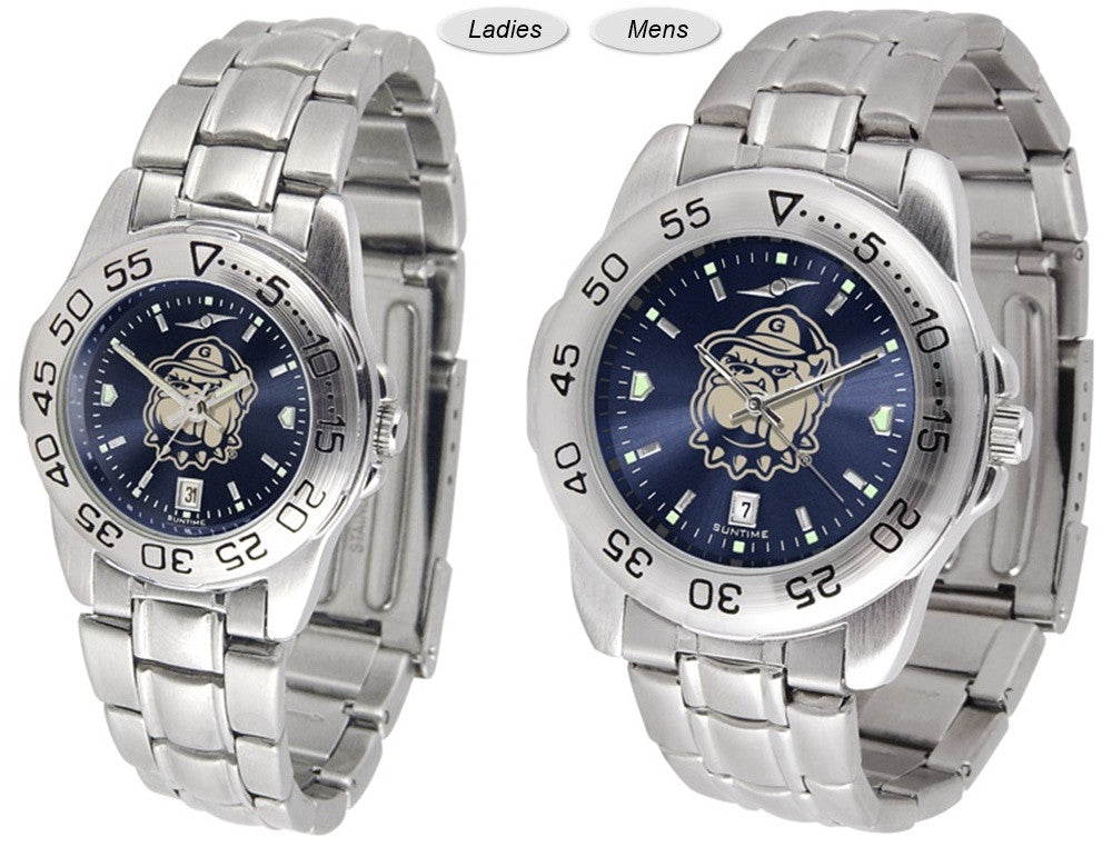 Georgetown Hoyas Sport Steel AnoChrome Watch