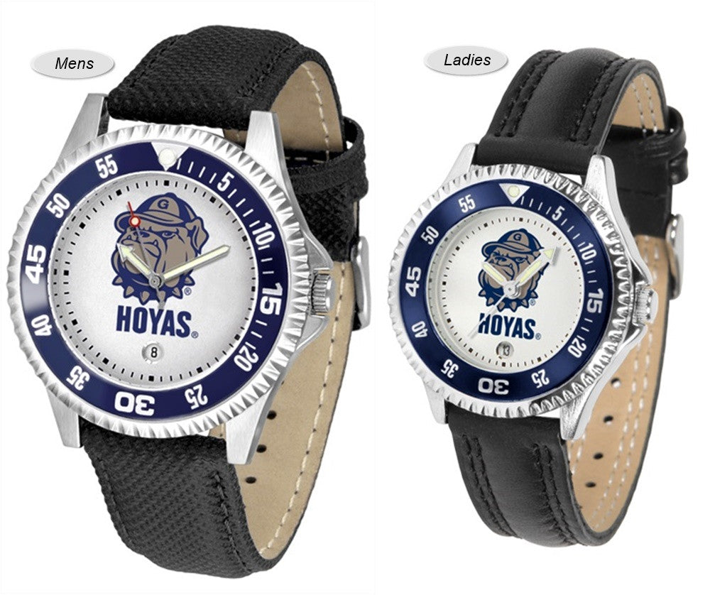 Georgetown Hoyas Competitor Sport Leather Watch