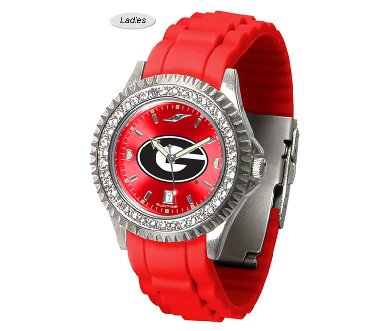 Georgia Bulldogs Sparkle Watch