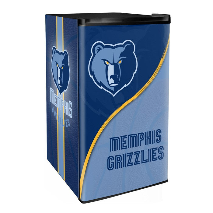 Memphis Grizzlies NBA Primary Counter Height Refrigerator - Sports Fans Plus  - 1