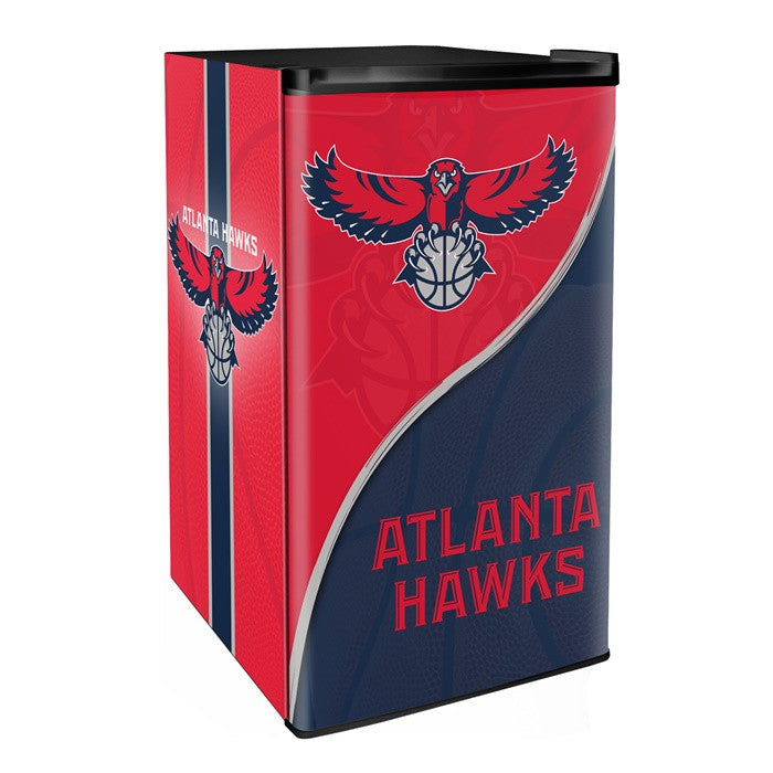 Atlanta Hawks NBA Primary Counter Height Refrigerator - Sports Fans Plus  - 1