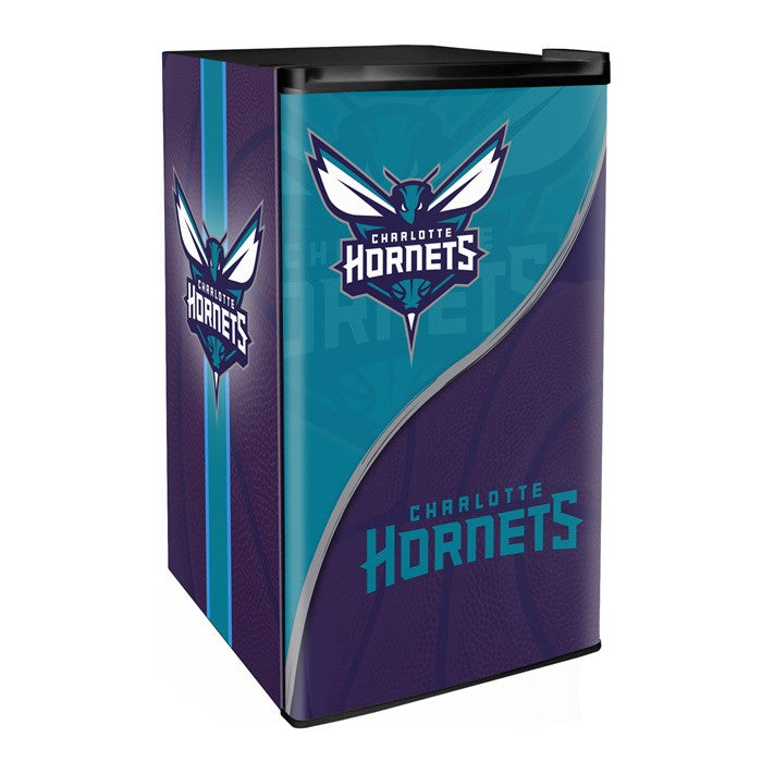 Charlotte Hornets NBA Primary Counter Height Refrigerator - Sports Fans Plus  - 1