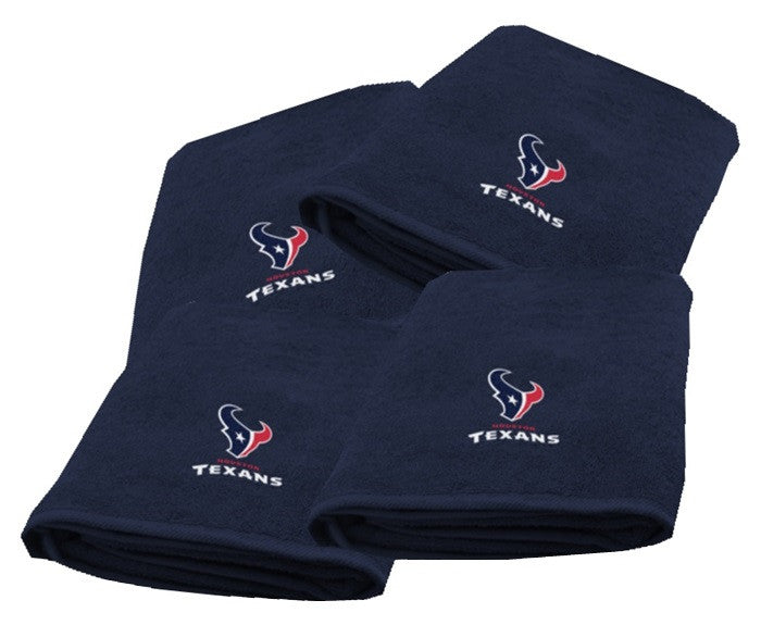 Houston Texans NFL Logo Bath Towel - Sports Fans Plus