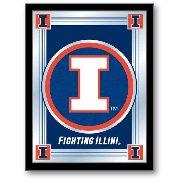 Illinois Fighting Illini Logo Mirror