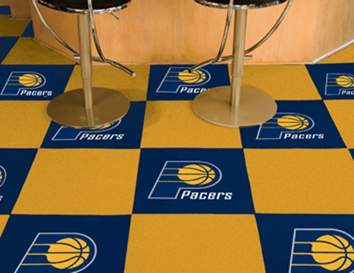 Indiana Pacers NBA Carpet Tiles - Sports Fans Plus  - 1