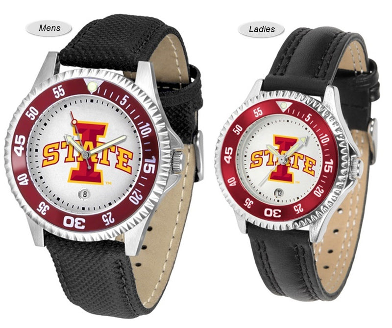 Iowa State Cyclones Competitor Sport Leather Watch