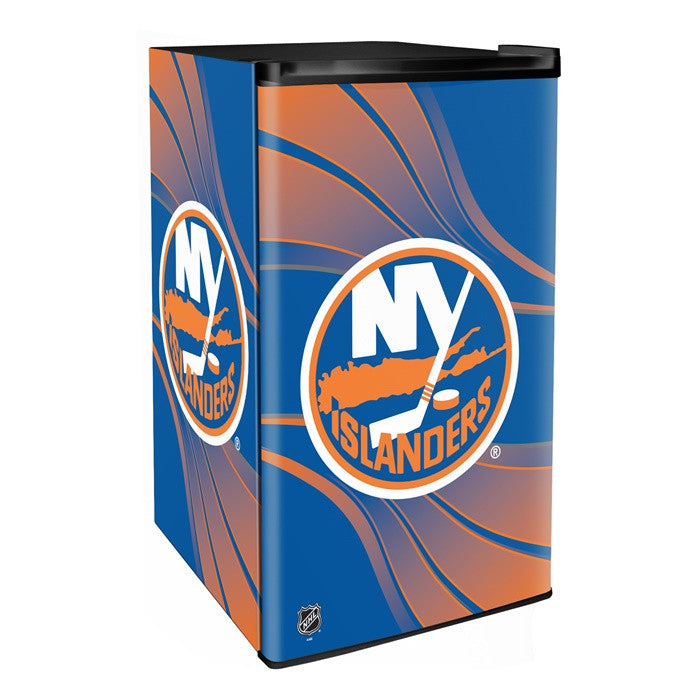 New York Islanders NHL Primary Counter Height Refrigerator - Sports Fans Plus  - 1