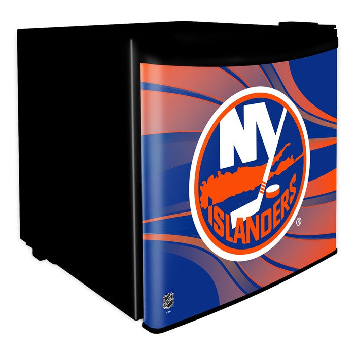 New York Islanders NHL Dorm Room Refrigerator - Sports Fans Plus  - 1