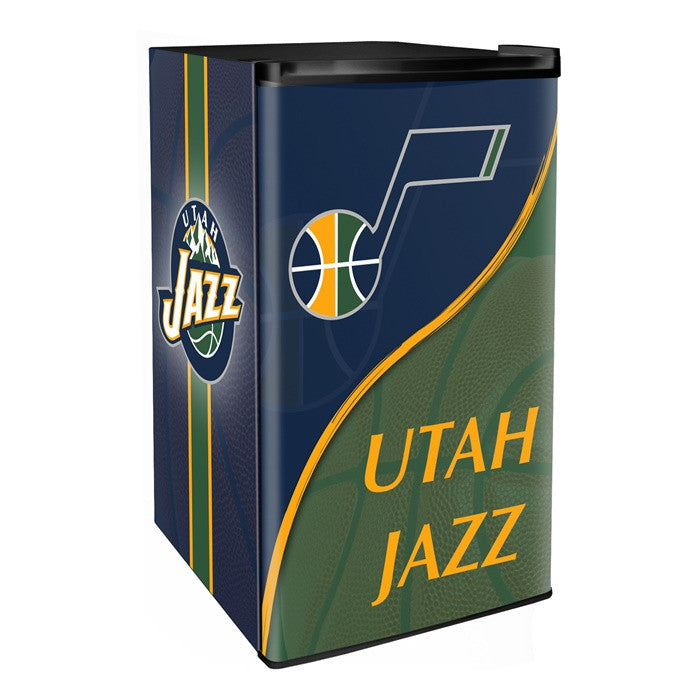 Utah Jazz NBA Primary Counter Height Refrigerator - Sports Fans Plus  - 1