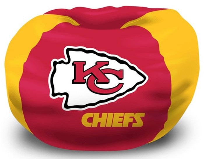 Kansas City Chiefs NFL Bean Bag Chair - Sports Fans Plus