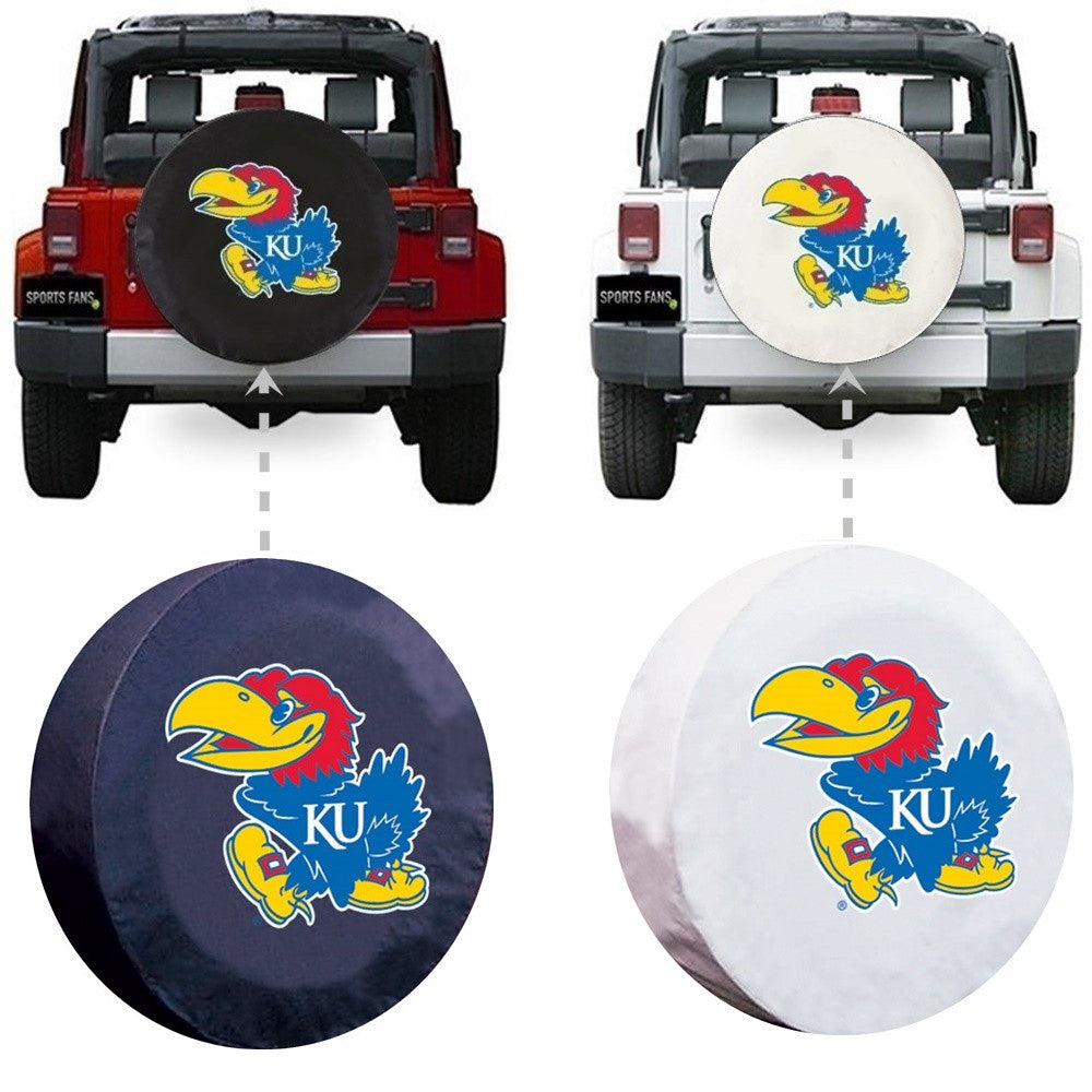 Kansas Jayhawks Spare Tire Cover