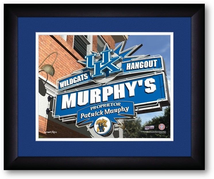 Kentucky Wildcats Personalized Pub Print - Sports Fans Plus  - 2