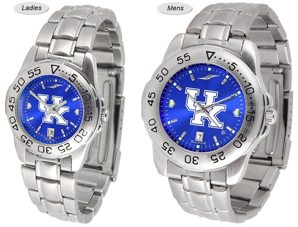 Kentucky Wildcats Sport Steel AnoChrome Watch