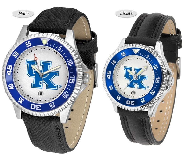 Kentucky Wildcats Competitor Sport Leather Watch