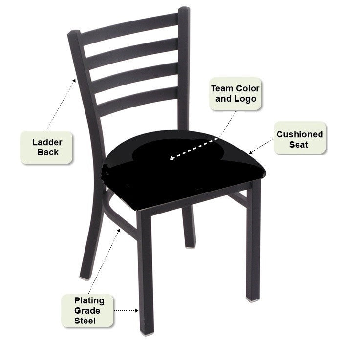 Stationary Ladder Back Dining Chair Features