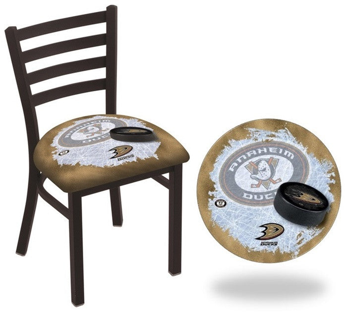 Anaheim Ducks NHL D2 Stationary Ladder Back Dining Chair