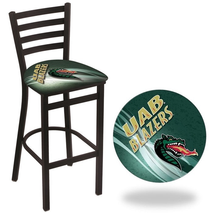 Alabama at Birmingham Blazers D2 Stationary Ladder Back Bar Stool