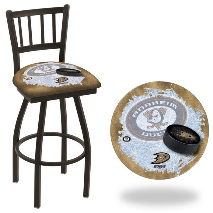 Anaheim Ducks NHL D2 Jailhouse Back Bar Stool