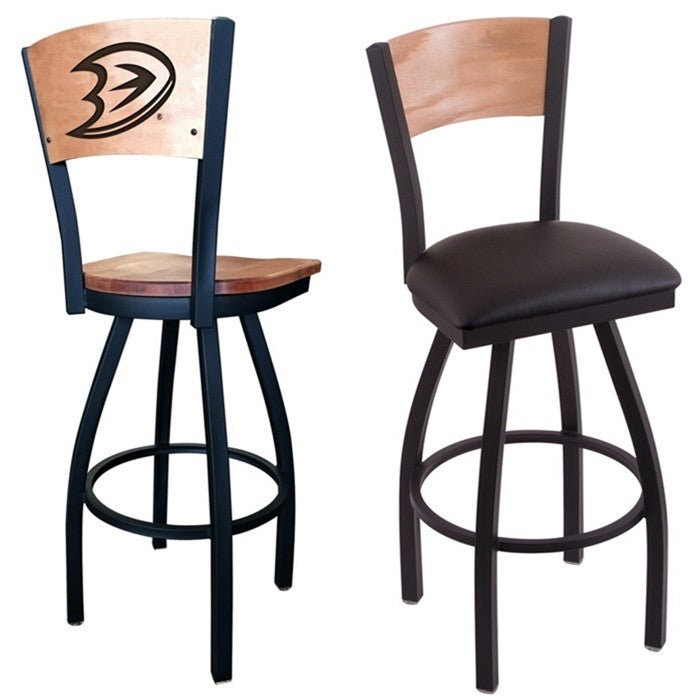 Anaheim Ducks NHL D1 Laser Engraved Bar Stool - SportsFansPlus.com