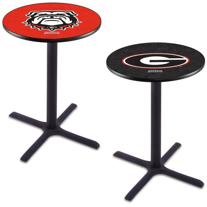 Georgia Bulldogs X-Base Pub Table