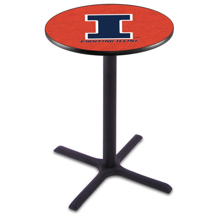 Illinois Fighting Illini X-Base Pub Table