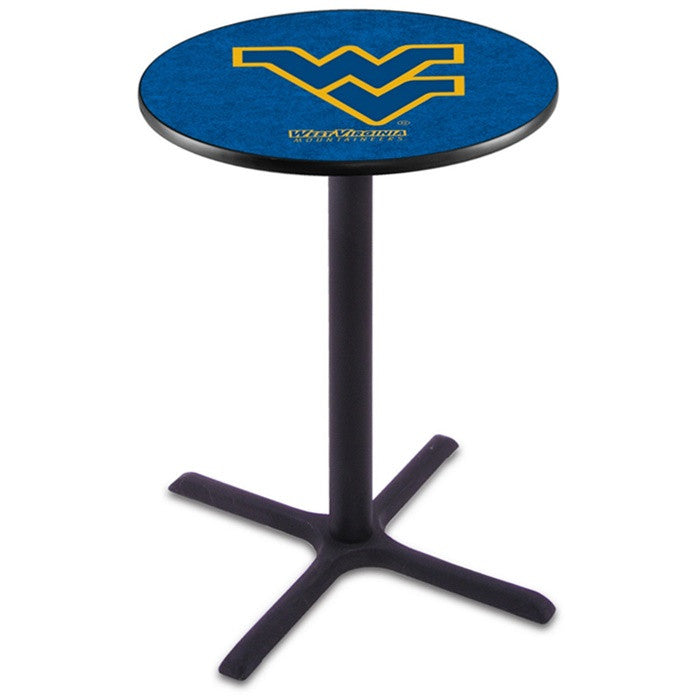 West Virginia Mountaineers X-Base Pub Table - Sports Fans Plus