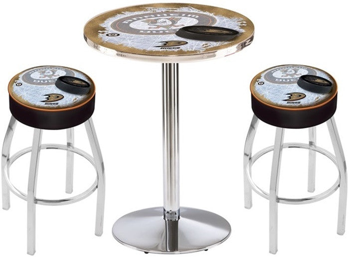 Anaheim Ducks NHL D2 Chrome Pub Table Set