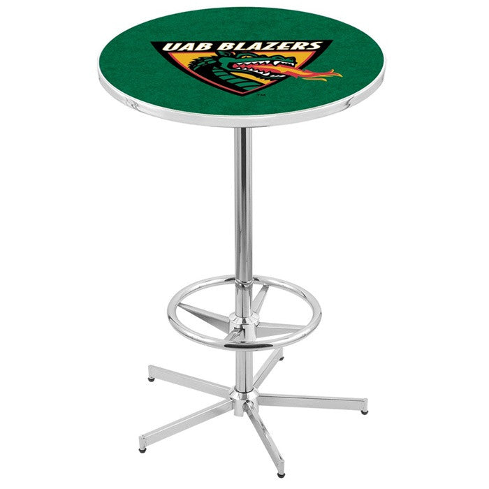 Alabama at Birmingham Blazers Retro-Style-Base Pub Table - SportsFansPlus.com