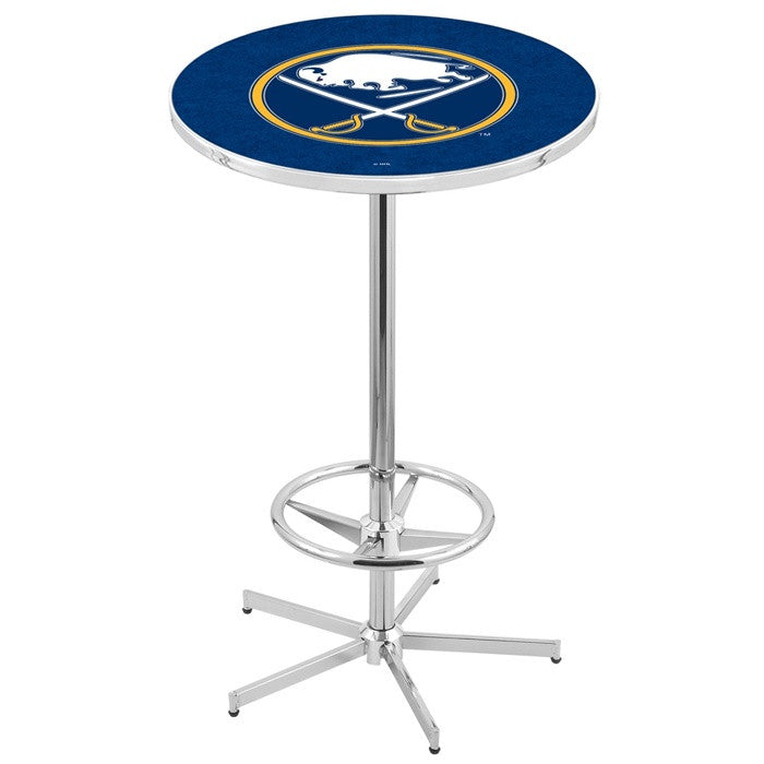 Buffalo Sabres NHL Retro Style-Base Pub Table