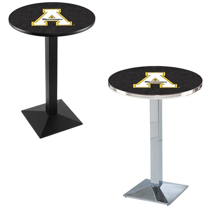 Appalachian State Mountaineers Square-Base Pub Table