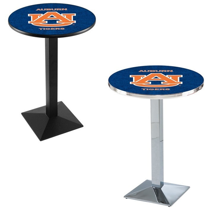 Auburn Tigers Square-Base Pub Table