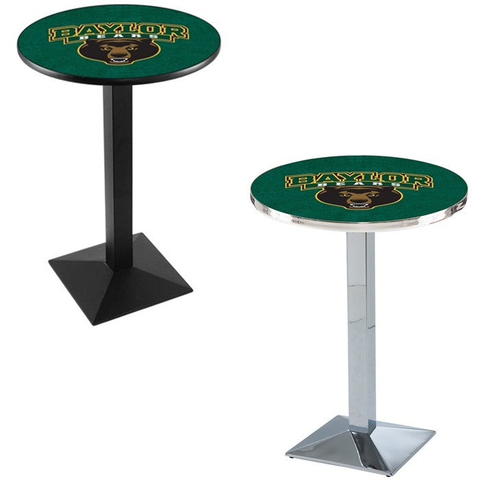 Baylor Bears Square-Base Pub Table