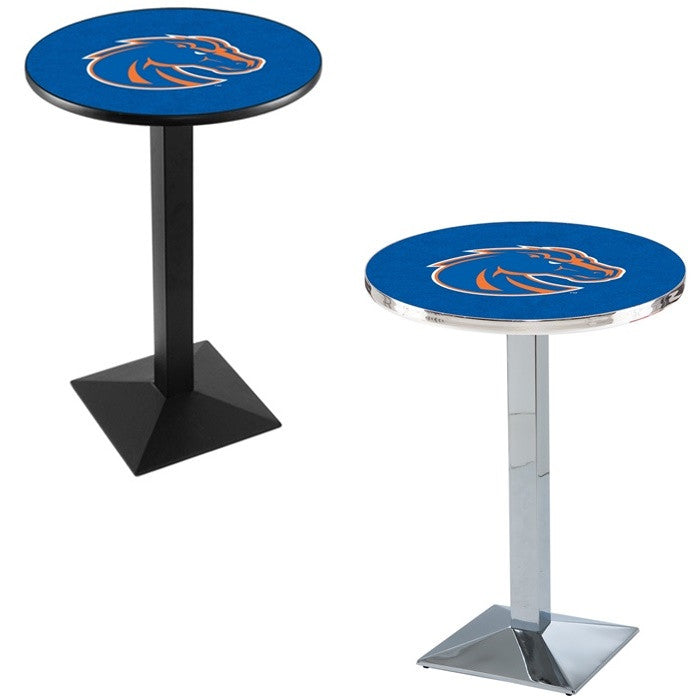 Boise State Broncos Square-Base Pub Table