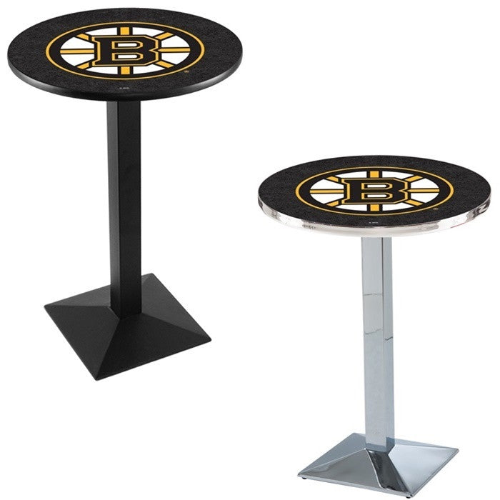 Boston Bruins NHL D1 Square-Base Pub Table