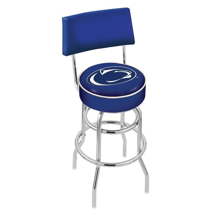 Penn State Nittany Lions Bar Stool with Back - Sports Fans Plus